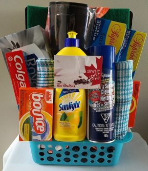 Small Tenant Welcome Basket $39